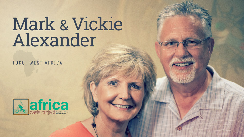 Mark and Vickie Alexander - Missionaries: Togo, West Africa